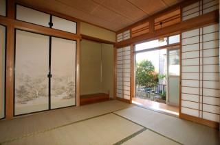 DKに改修する前の旧和室