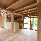 比良_雑木林に建つ家1