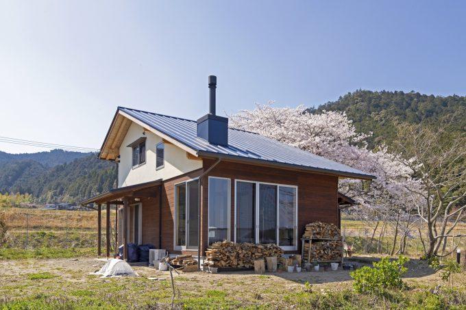 田んぼと畑と22坪の家